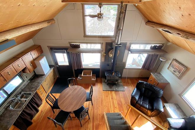 Cabin 15 from loft at Postill Lake Lodge