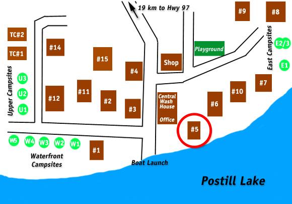 Cabin 5 Postill Lake Lodge
