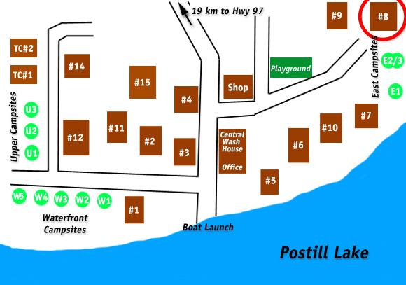 Cabin 8 Postill Lake Lodge